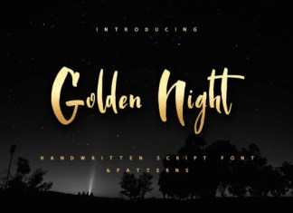 Golden Night Font