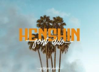 Henshin Font