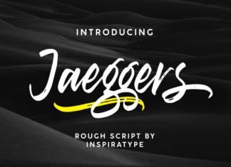 Jaeggers Font