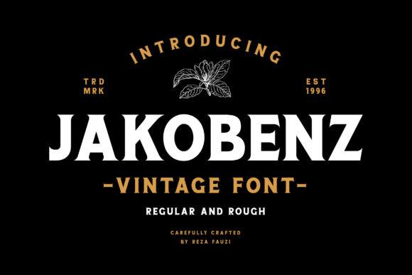 Jakobenz Font