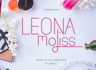 Leona Moliss Font