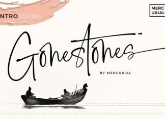 Gonestones Font