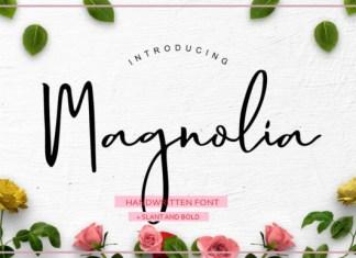 Magnolia Hand Font