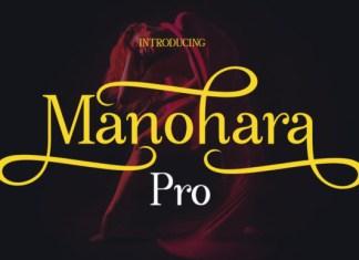 Manohara Pro Font