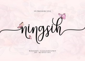 Ningsih Font