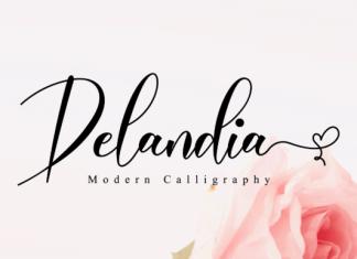 Delandia Font