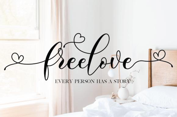 Freelove Font