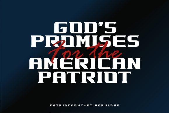 Patriot Font