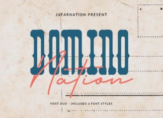 Domino Nation Font
