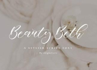 Beauty Beth Font
