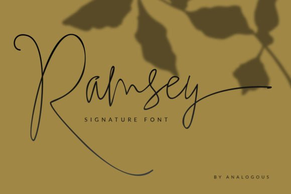 Ramsey Font