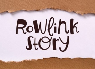 Rowlink Story Font