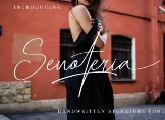 Senoteria Font