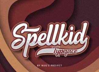 Spellkid Font