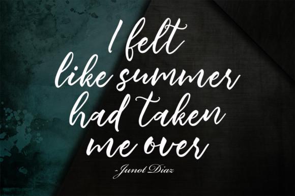 Summertime Font