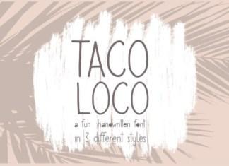 Taco Loco Font