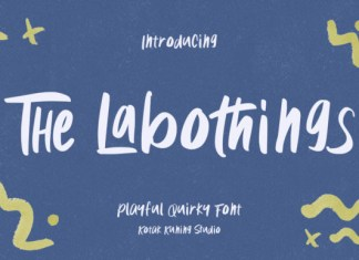 The Labothings Font