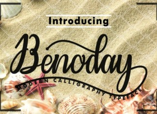 Benoday Font