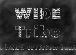 Wide Tribe Font
