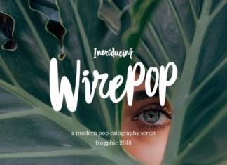 Wirepop Font