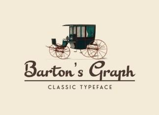 Barton Graph Font