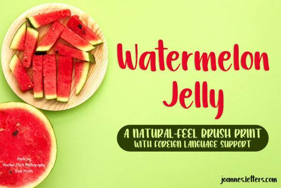 Watermelon Jelly Font