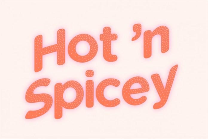 Hot Peach Font