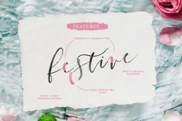Festive Font
