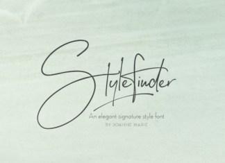 Stylefinder Font