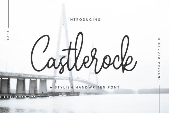 Castlerock Font