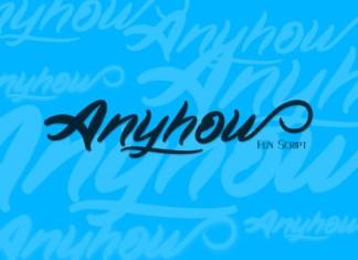 Anyhow Font