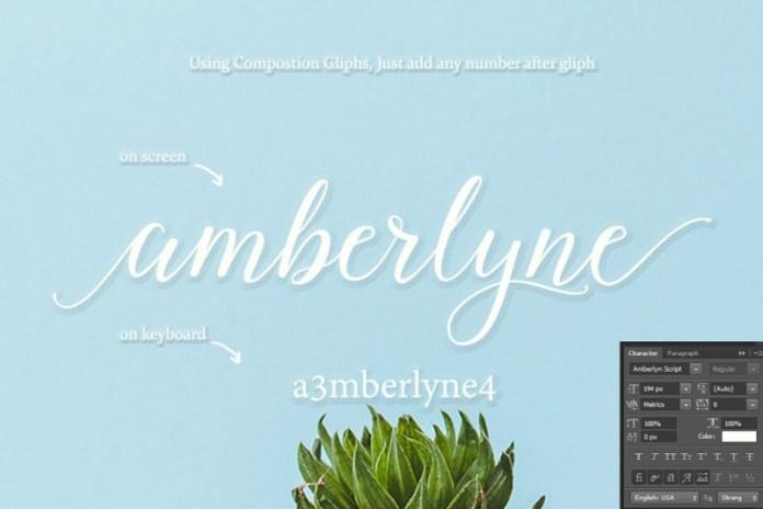Amberlyne Font