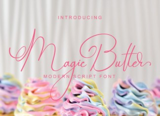 Magic Butter Font