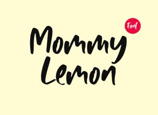 Mommy Lemon Font