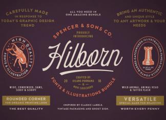 Hilborn Font