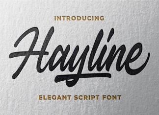 Hayline Font