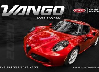 VANGO Font
