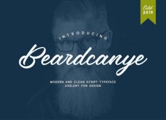 Beardcanye Font
