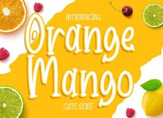 Orange Mango Font