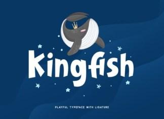 Kingfish Font
