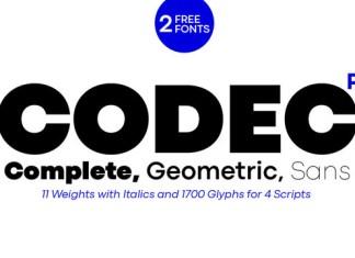 Codec Pro Font