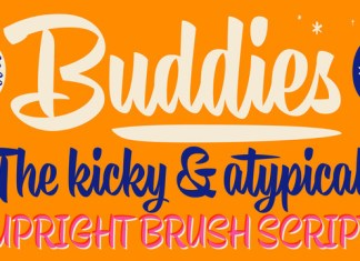 Buddies Font