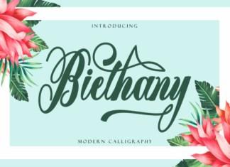 Biethany Font