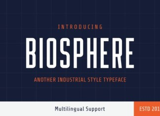 Biosphere Font
