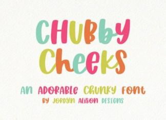 Chubby Cheeks Font