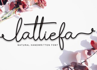 Lattiefa Font