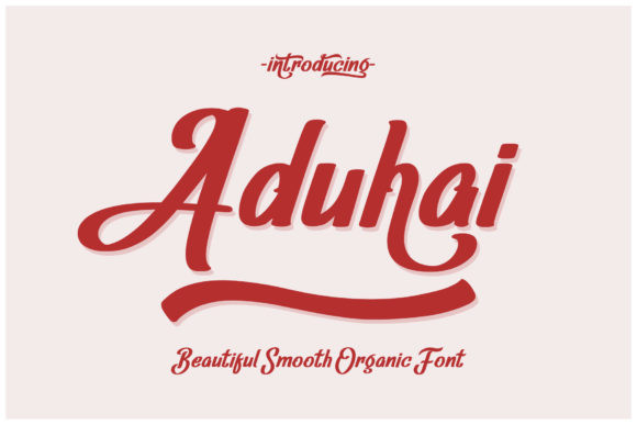 Aduhai Font