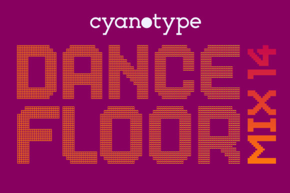 Dance Floor Mix 14 Font