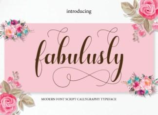 Fabulusly Font