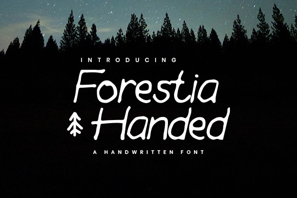 Forestia Handed Font